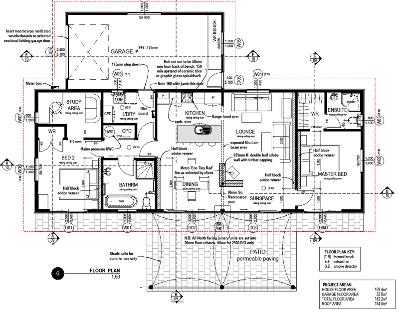 Ecotect buy download solabode mk1 v2 2br full set for Complete set of architectural drawings pdf
