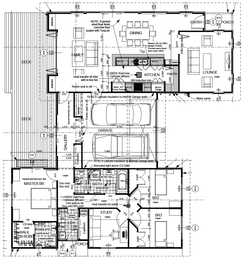 Ecotect buy download tawa full set drawings Buy architectural plans