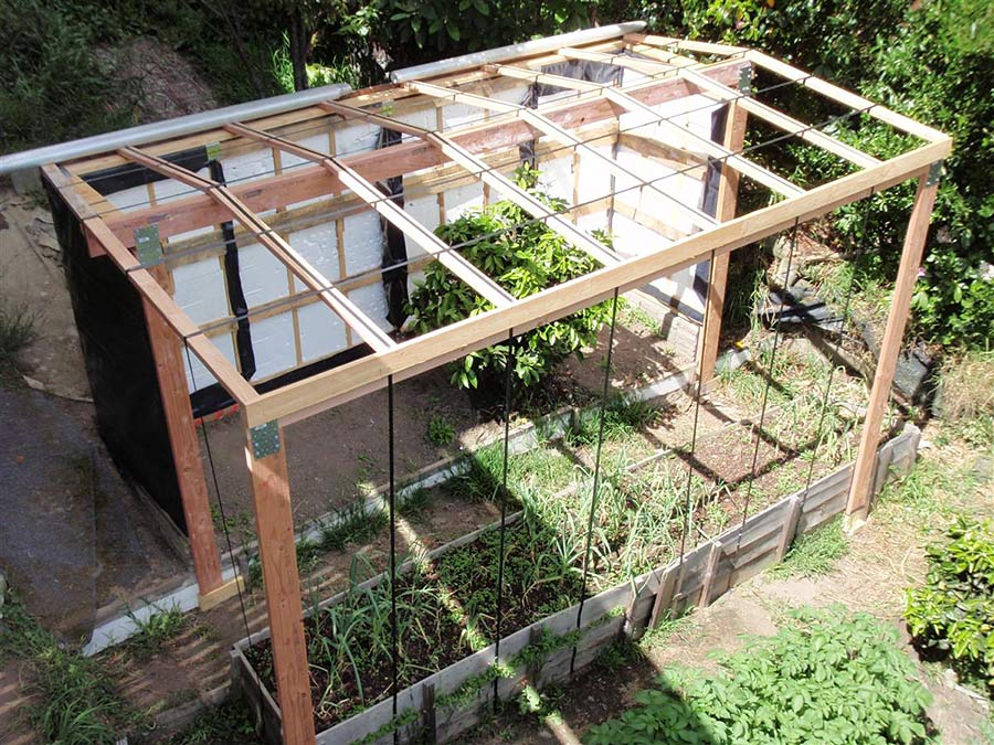 pallet wall greenhouse solabode building with pallets