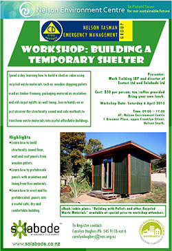 Workshop - Building a Temporary Shelter