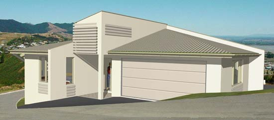 Le Petit House Residential Design Mark Fielding